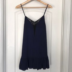 Lovers + FRIENDS Navy Mini Dress